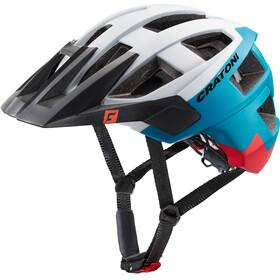 Cratoni Allset - Casco de bicicleta - blanco/Multicolor